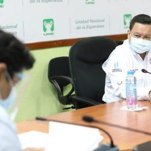 El ministro de Desarrollo, Raúl Romero, fue cuestionado por la oposición.