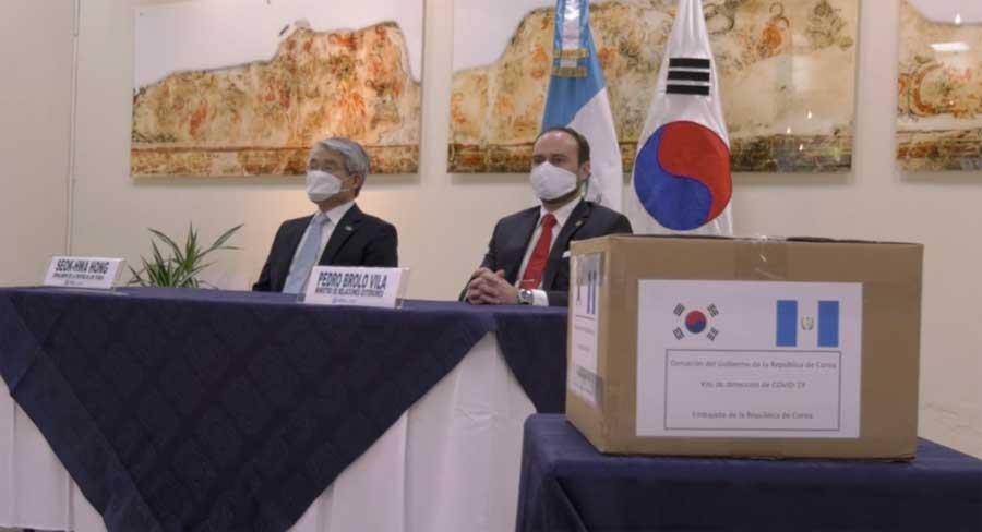 Corea dona pruebas para Covid-19