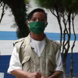 Cristian López con trabajo en Migración