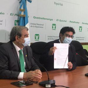 Bancada UNE acciona contra titular de PGN por sugerir destitución de Carlos Contreras