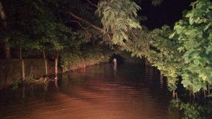Daños por lluvias provocadas por Onda del Este