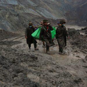 Deslizamiento de tierra en mina de Birmania