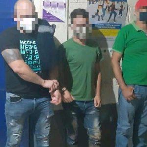 Hondureños detenidos en Izabal