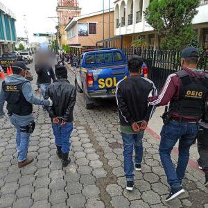 Detenidos en Nahualá, Sololá