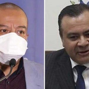 Diputados Aldo Dávila y Aníbal Rojas