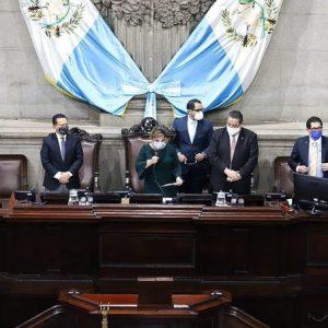 El ausente fue el presidente, Allan Rodríguez, por tener coronavirus.