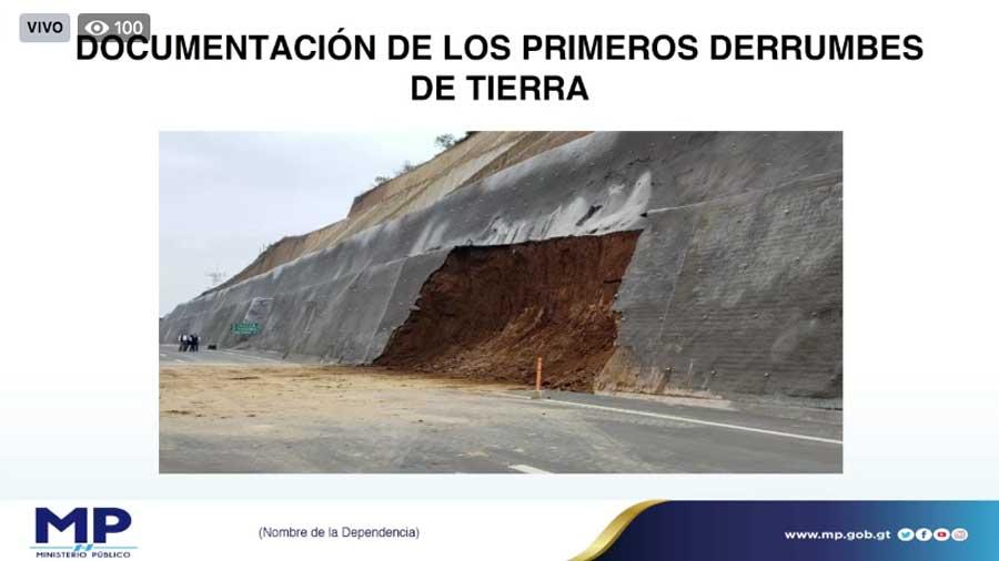Documentación de deslizamientos