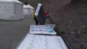 Hacen donación de camas a Hospital de Antigua
