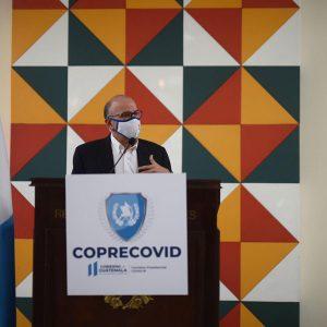 Edwin Asturias, director de la Coprecovid