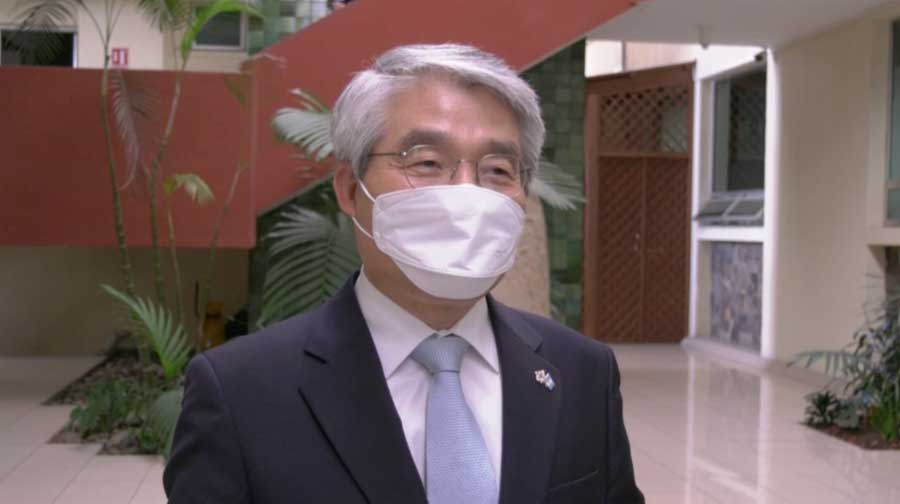 Embajador de Corea en Guatemala