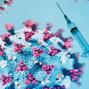 Representación del coronavirus