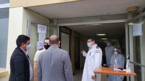 Diputado: Salud no ha utilizado espacio otorgado por Centro Médico Militar para atender pacientes COVID-19