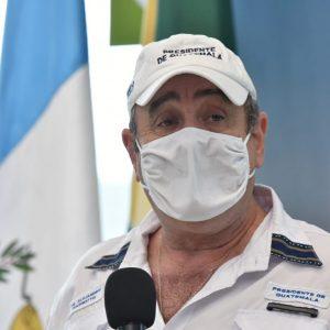Presidente Giammattei en Huehuetenango