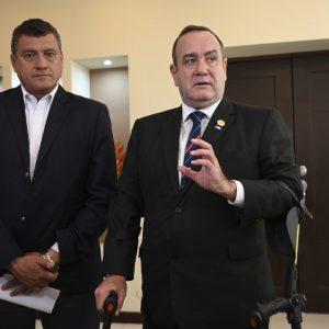 Guillermo Castillo y Alejandro Giammattei