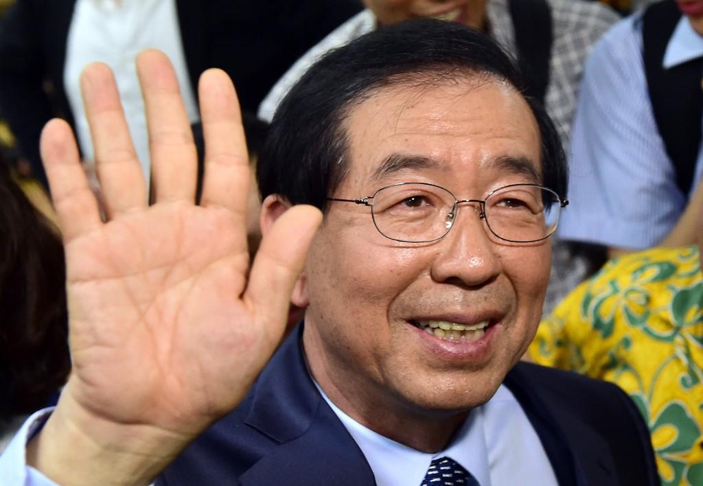 Park Won-soon, alcalde de Corea del Sur