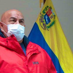 Darío Vivas, jefe de Gobierno de Caracas