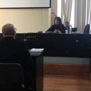Jorge Villavicencio y jueza Erika Aifán