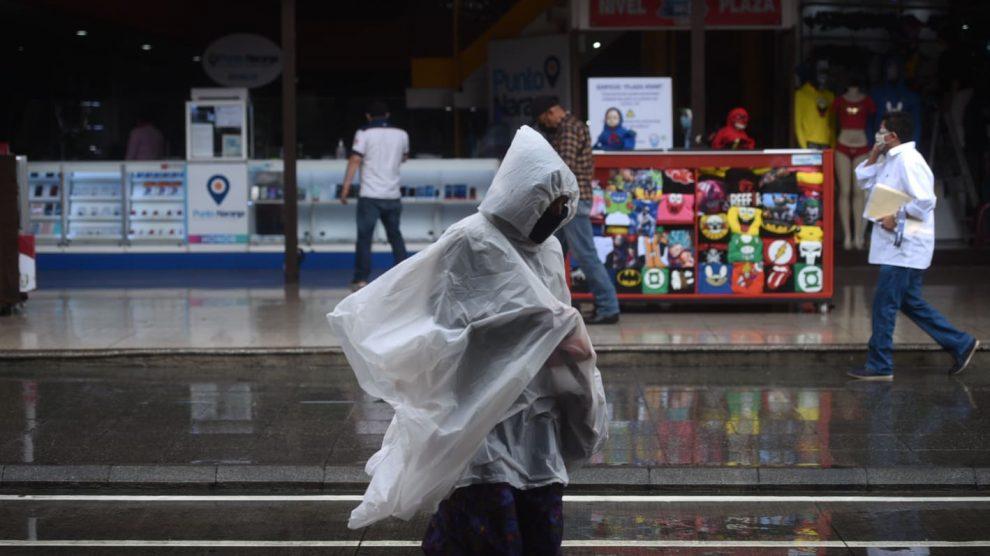Lluvia en Guatemala