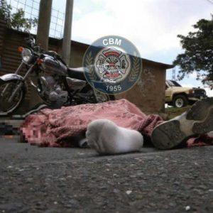 Motorista fallecido en zona 18