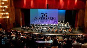 Orquesta Sinfónica Nacional festeja su 76 aniversario