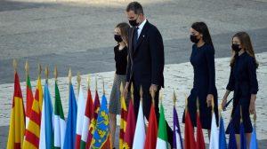 Ceremonia para recordar a víctimas de la pandemia en España