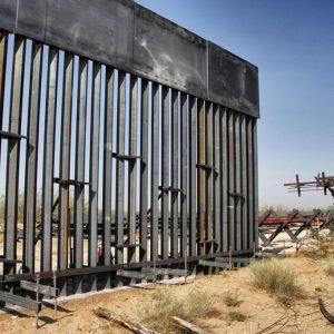 Muro fronterizo entre México y Estados Unidos