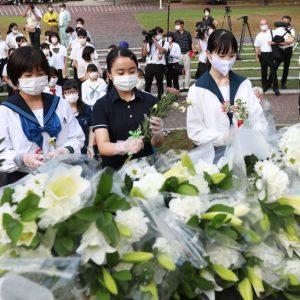 75 aniversario de la bomba atómica de Nagasaki