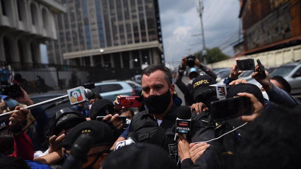 Alejandro Sinibaldi llega a Tribunales
