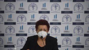 Amelia Flores, ministra de Salud Covid-19 coronavirus
