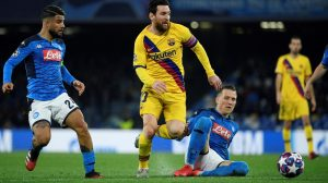 Barcelona recibe al Napoli por la vuelta de los octavos de final