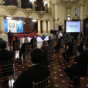 Ejecutivo presentó la nueva comisión presidencial Copadeh.