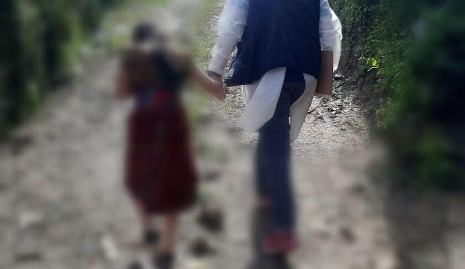 El MP logro rescatar a menor en San Juan Sacatepéquez