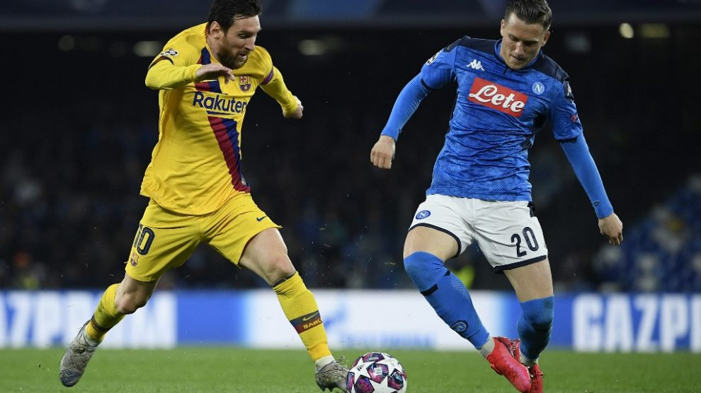 Barcelona vs Napoli, vuelta octavos de final Champions League 2020