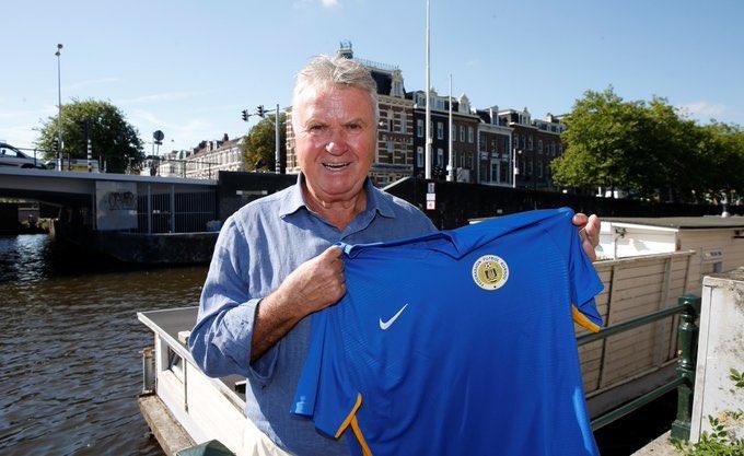 Guus Hiddink, nuevo técnico de la selección de Curazao