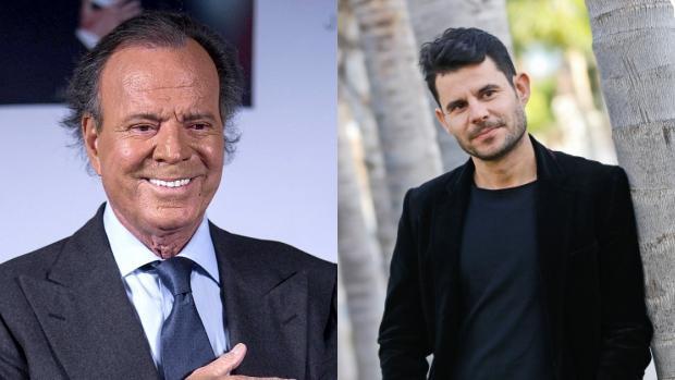 Julio Iglesias y Javier Sánchez