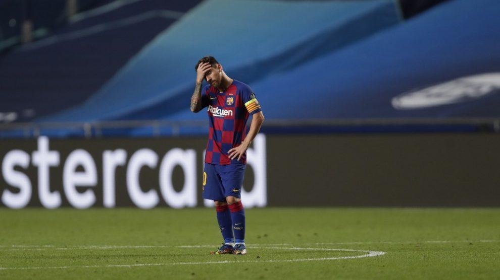 Messi desea marcharse del Barcelona