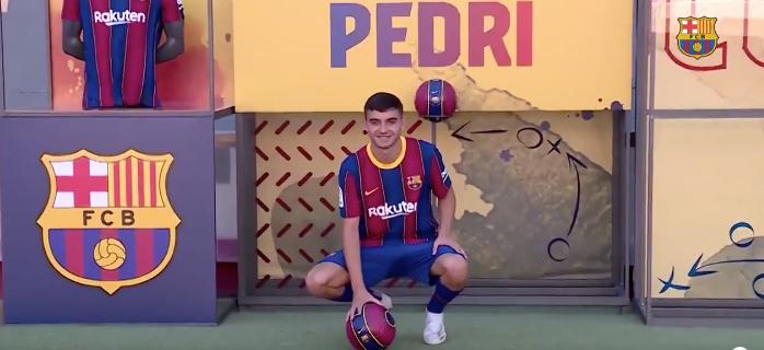 Pedro González López, nuevo jugador del Barcelona