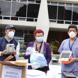 Salud recibe donativo de la Usac.