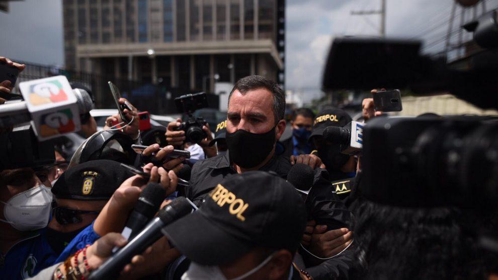 Alejandro Sinibaldi en Tribunales