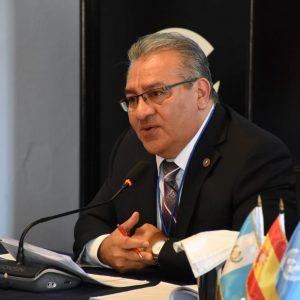 Bonerge Mejía, magistrado de la Corte de Constitucionalidad (CC).