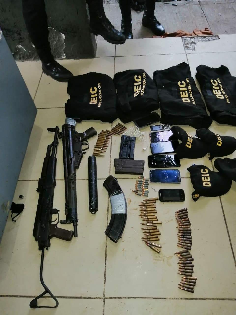 capturados por ataque a PNC en Jutiapa