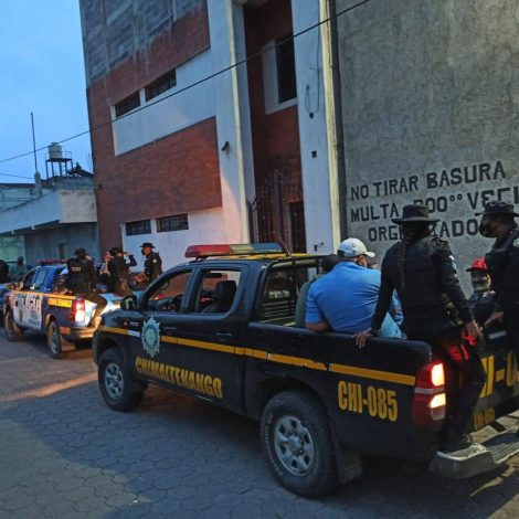 capturados por fiesta clandestina en Chimaltenango