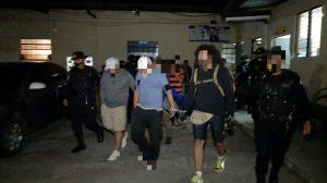 capturados por participar en fiestas clandestinas en Escuintla y Chimaltenango