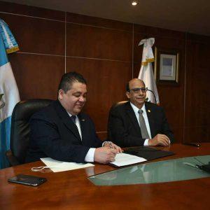 Edgar Guzmán y Ernesto Morales