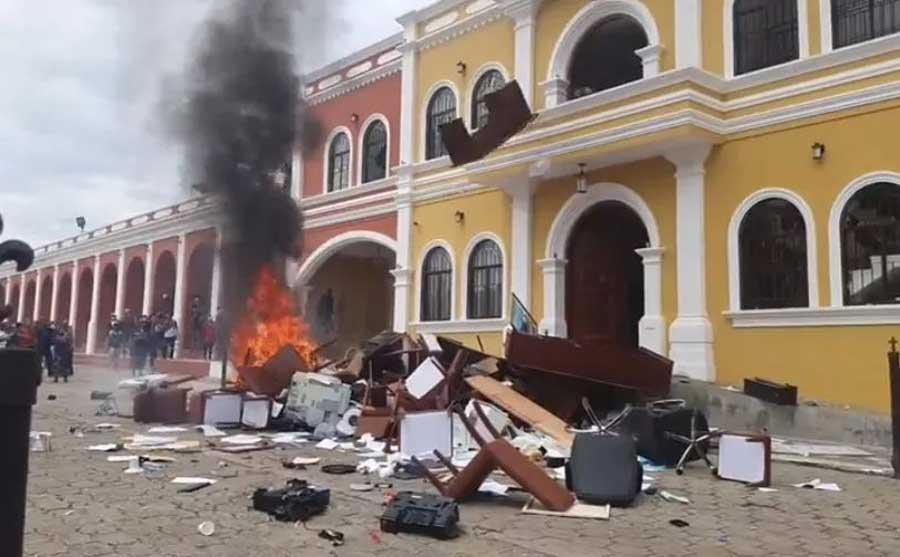 Disturbios en Joyabaj, Quiché