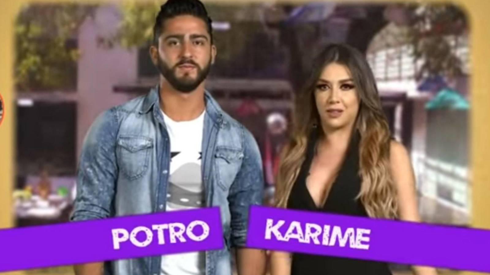 Potro y Karime
