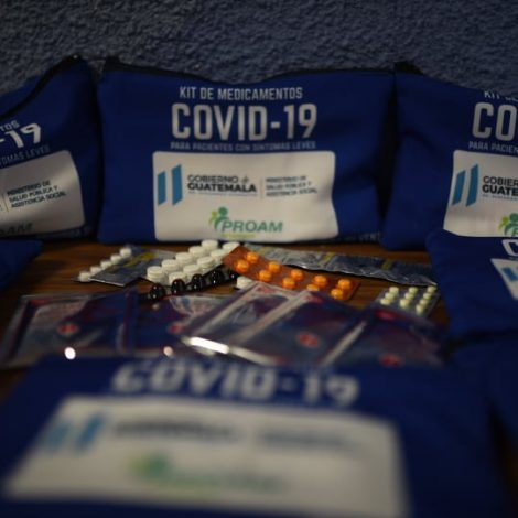 Kits de medicamentos Covid-19
