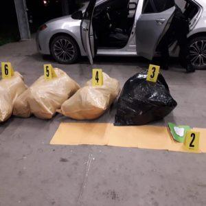 localizan 40 paquetes con marihuana en Ayutla, San Marcos