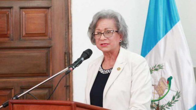 Magistrada María Eugenia Morales