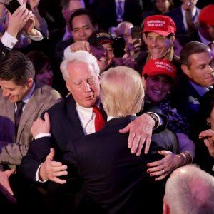 Robert y Donald Trump
